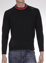 Мъжка блуза с дълъг ръкав hillaz