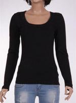 Дамска блуза с дълъг ръкав Flame