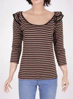 Дамска блуза с дълъг ръкав  ETAM