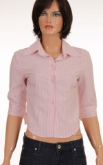Дамска риза с 3/4 ръкави