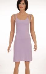 Дамска рокля с презрамки
