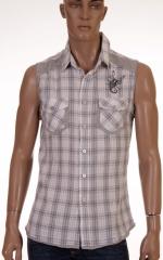 Мъжка риза без ръкави