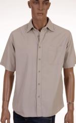 Мъжка риза с къс ръкав