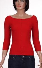 Дамска блуза с 3/4 ръкави