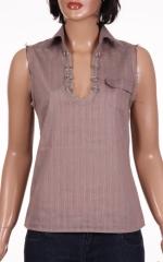 Дамска риза  без ръкав