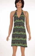 Дамска рокля с гол гръб