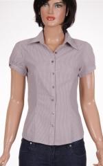 Дамска риза с къс ръкав
