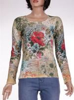 Дамска блуза с дълъг ръкав MISIS