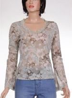 Дамска блуза с дълъг ръкав URBAN KIABI