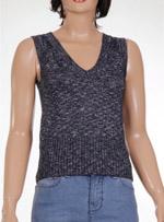 Дамски пуловер без ръкави MANGO