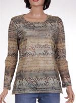 Дамска блуза с дълъг ръкав CELAIA