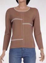 Дамски пуловер с дълъг ръкав Modern TIMES