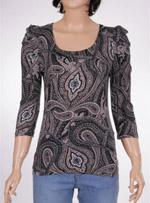 Дамска блуза с дълъг ръкав VILA