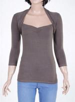 Дамска блуза с дълъг ръкав  BASICS