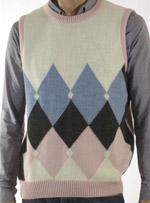 Мъжки пуловер без ръкави M&M