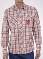 Мъжка риза с дълъг ръкав  W E