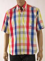 Мъжка риза с къс ръкав CÁRREL