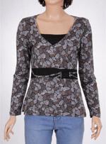 Дамска блуза с дълъг ръкав M&S