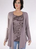 Дамска блуза с дълъг ръкав One touch
