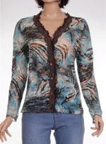 Дамска блуза с дълъг ръкав OCCO