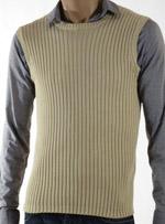 Мъжки пуловер без ръкави Benetton